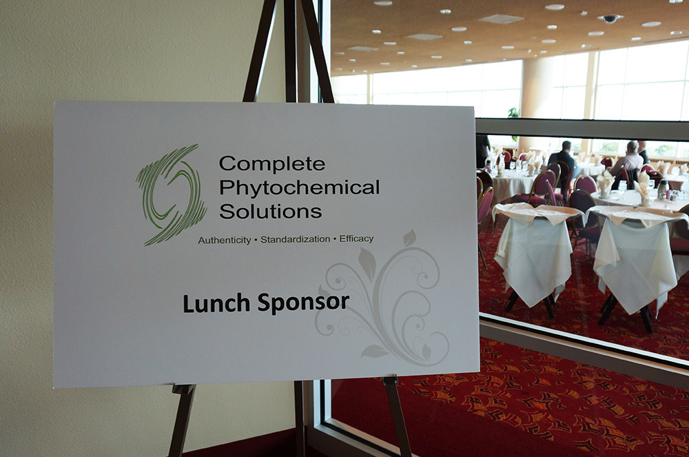 2015 bhbs complete phytochemical solutions lunch sponsorship sign